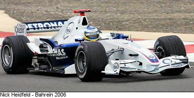 Bmw Sauber F1 06 Stats F1
