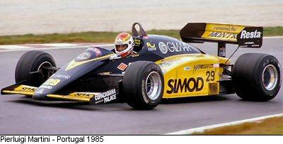 Minardi, equipe histórica de Formula 1 de 1985 - by statsf1.com
