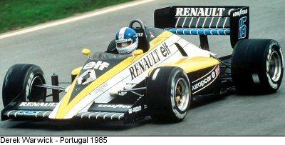 Risultati immagini per f1 1985 Renault RE60